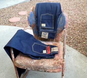 Denim+on+a+chair
