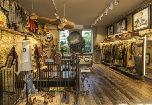 3d19b118341a Nigel Cabourn opens his first stand alone store in the UK ...
