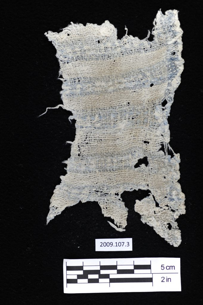 ok-cotton-plain-weave-with-indigo-blue-yarns-forming-a-warp-stripe-on-one-edge-and-weft-bands-with-a-float-patterning-for-a-6000-year-old-artifact-photo-by-lauren-urana